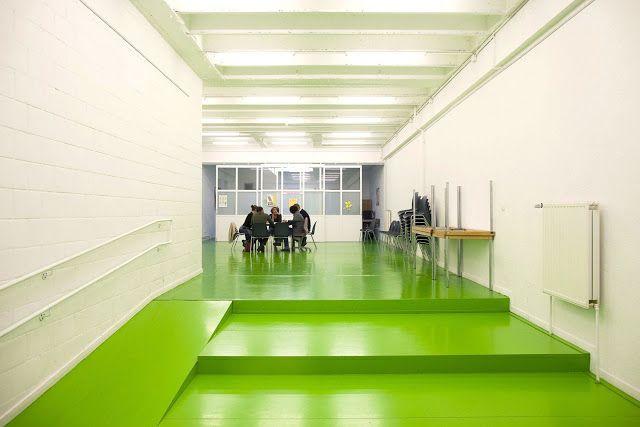 Imagine These: Community Center Interior | Maasstraat | amsterdam | B-Architecten
