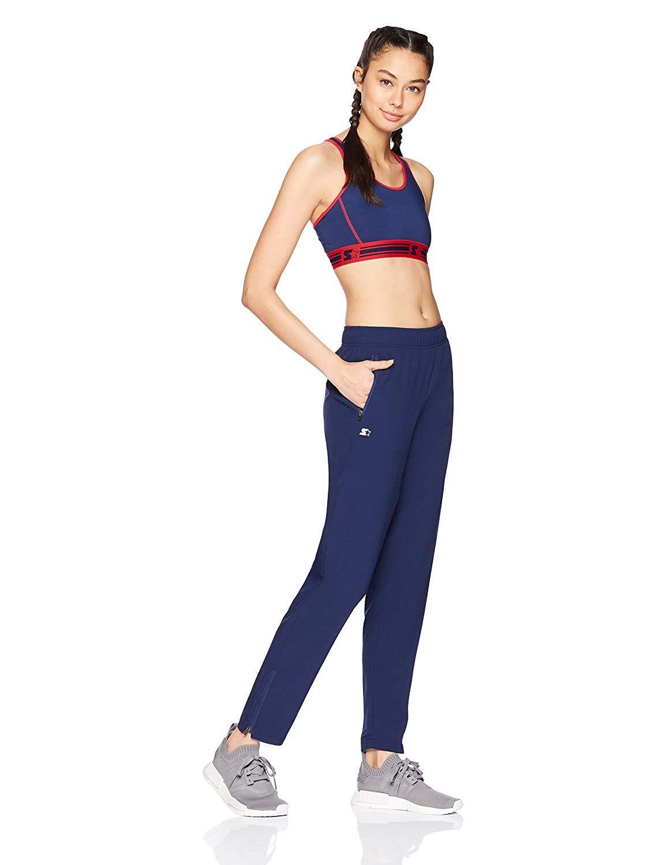 fffae2bea106e Amazon.com  Starter Women s Medium Impact Racerback Sports Bra ...
