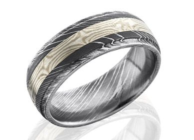 Mokume Rings Unique Rings Wedding Bands Unique Mens Rings