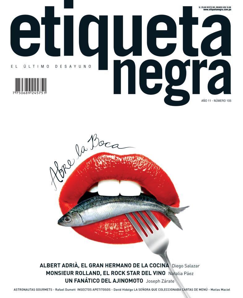 Revista Etiqueta Negra   Revistas del Perú   Pinterest