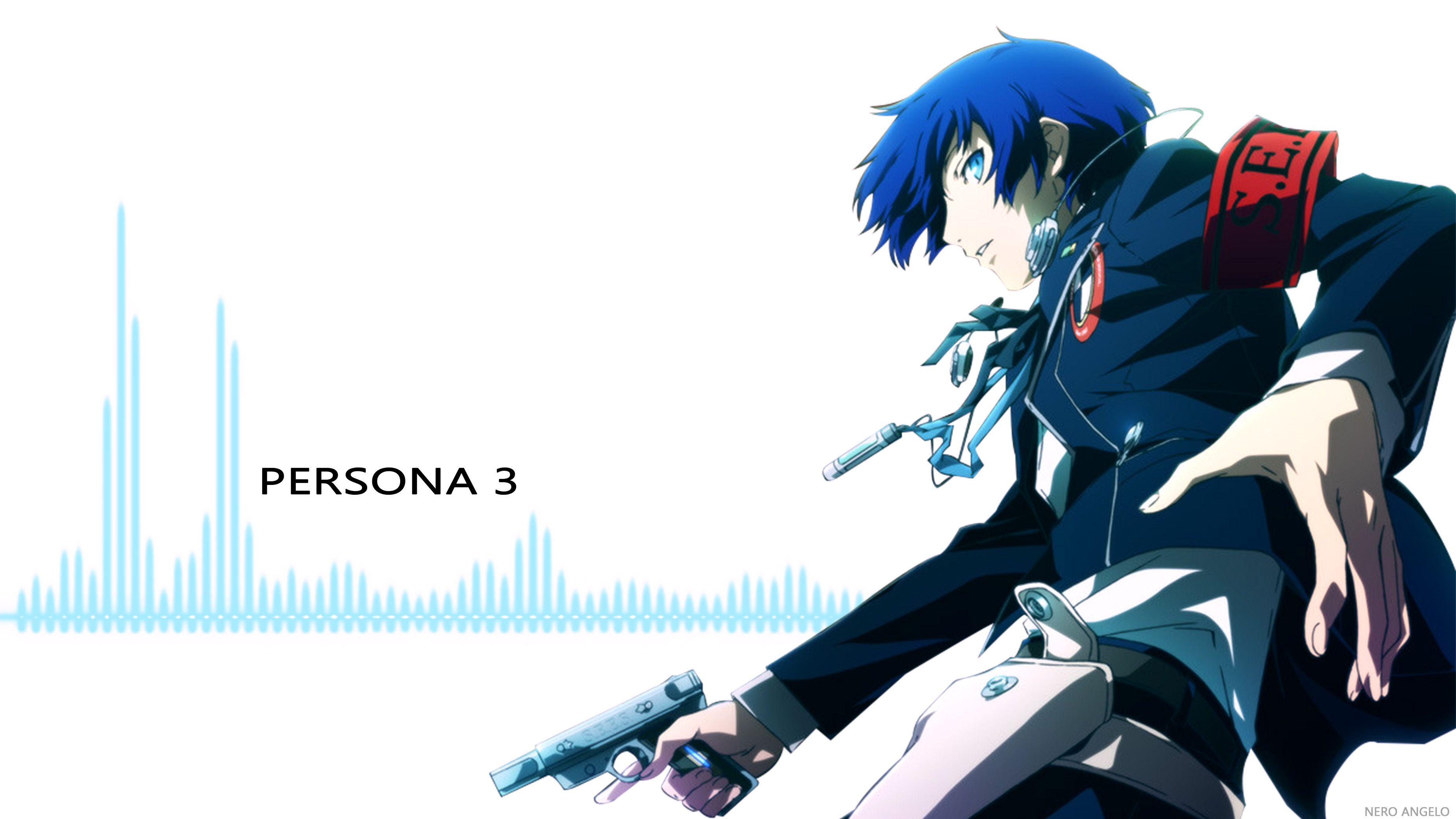 Video Game Persona 3 Persona Makoto Yuki Wallpaper Persona