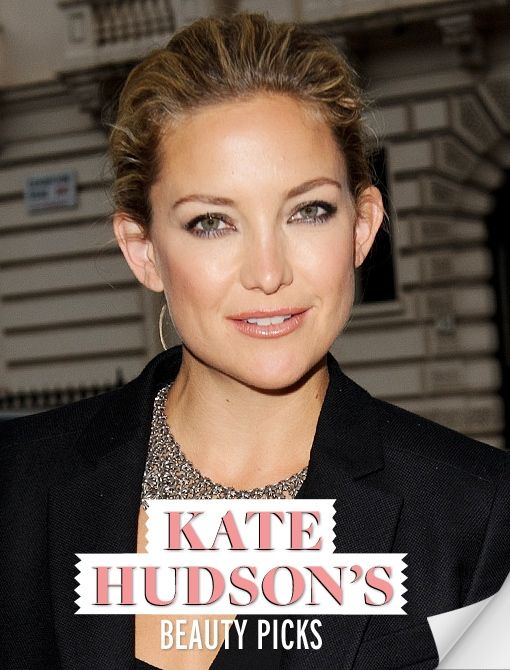 Kate Hudson shares her no-fuss skincare routine & cosmetic must-haves!