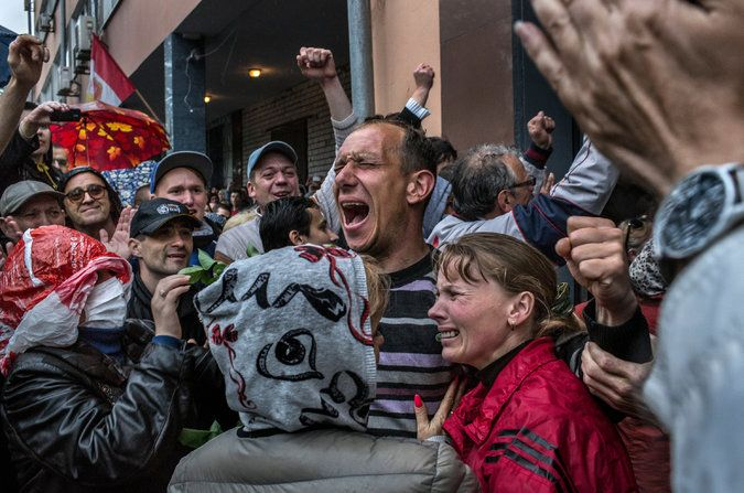 New York Times: May 5, 2014 - Ukraine's reins weaken as chaos spreads