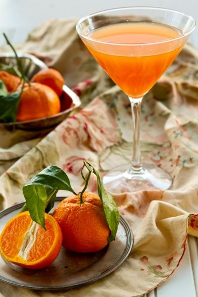 "Nectarine Gimlet via ""Sister's Point of View"""