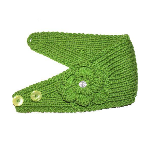 PATTERN Knitting Pattern Headband with Crochet por AbsoluteKnits ...