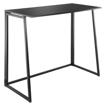 Folding Desk Black From Target Currently 24 Folding Desk