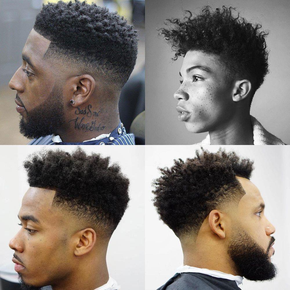 Curly hairstyles for black men حلاقة رجال pinterest curly