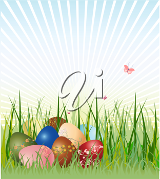Easter Eggs Green Grass Backdrop For Photography Lv 1311 Grass Backdrops Easter Backdrops Photography Backdrops