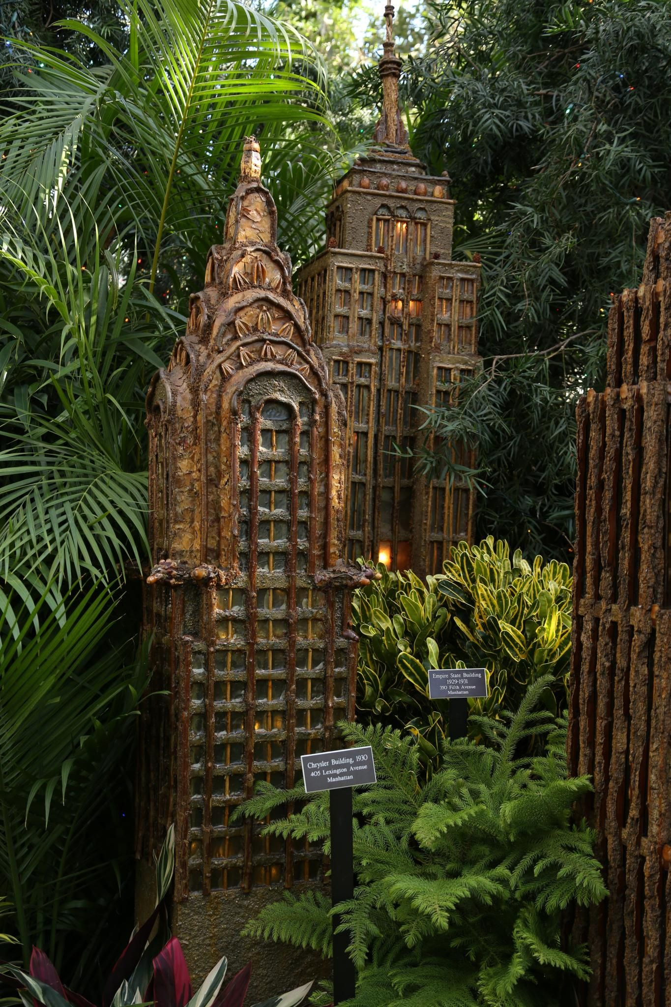 The Holiday Train Show at the New York Botanical Garden, Day 1 ...