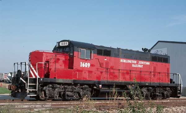 Burlington Junction Railway 1609GP16 - 2/52EMD 13917Ex-Lexington &…