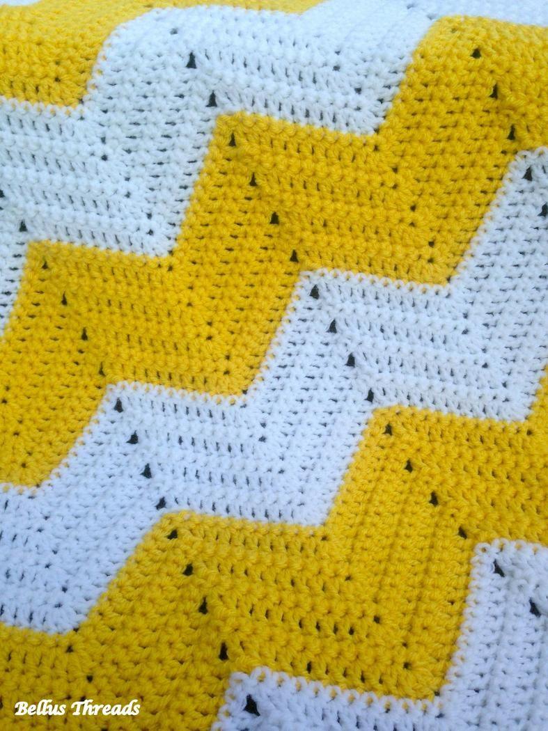 Chevron baby blanket pattern on bellus threads crochet afghans chevron baby blanket pattern on bellus threads bankloansurffo Gallery