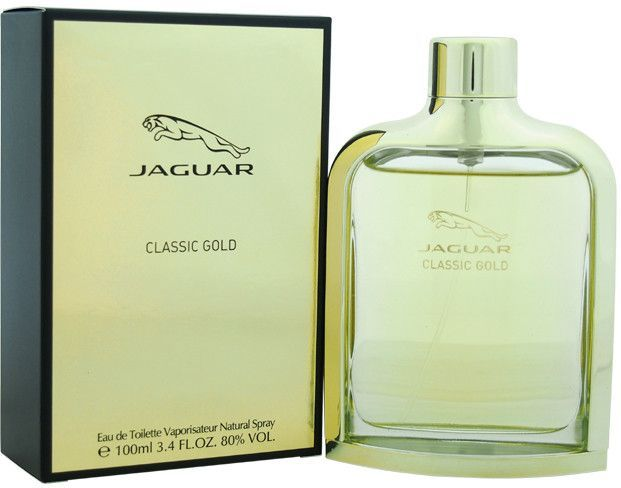 men jaguar jaguar classic gold edt spray 3.4 oz | Classic