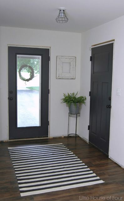 Mudroom Progress Paint Makes All The Difference Dark