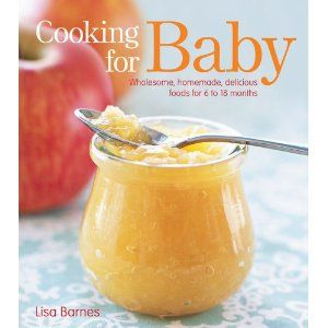 cookbook for babies to toddlers