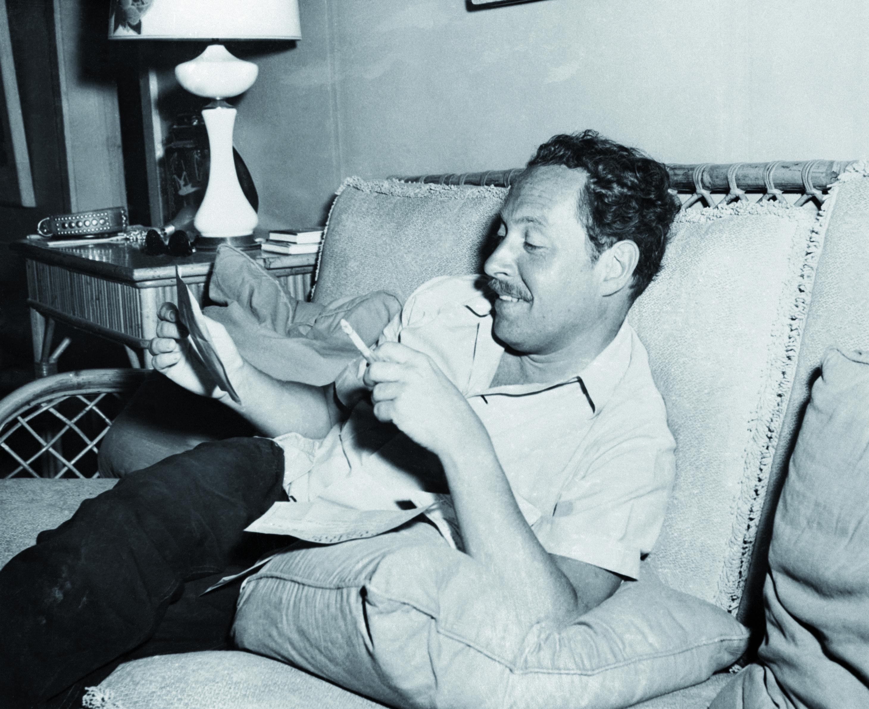 Tennessee Williams Reading Telegrams