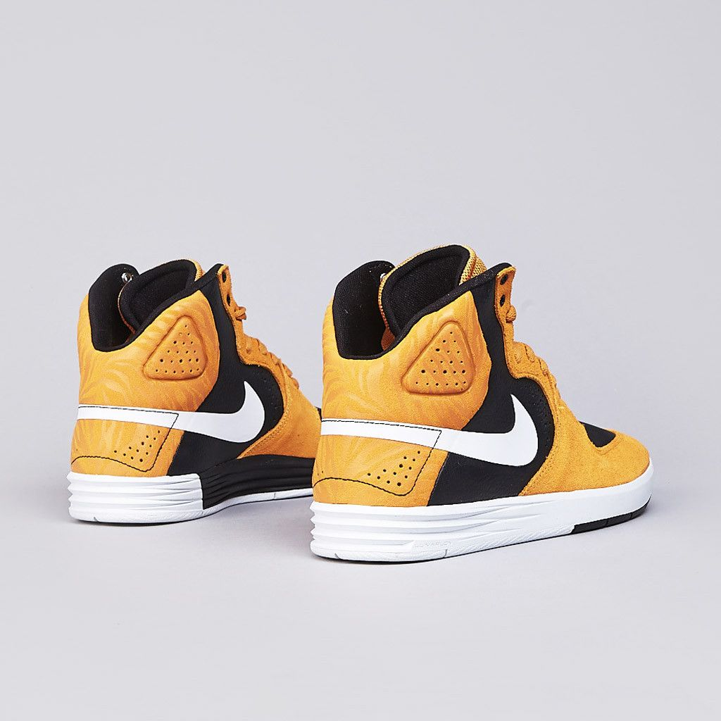big sale 80831 5c1dc Flatspot - Nike Sb Paul Rodriguez 7 High Laser Orange - White - Black
