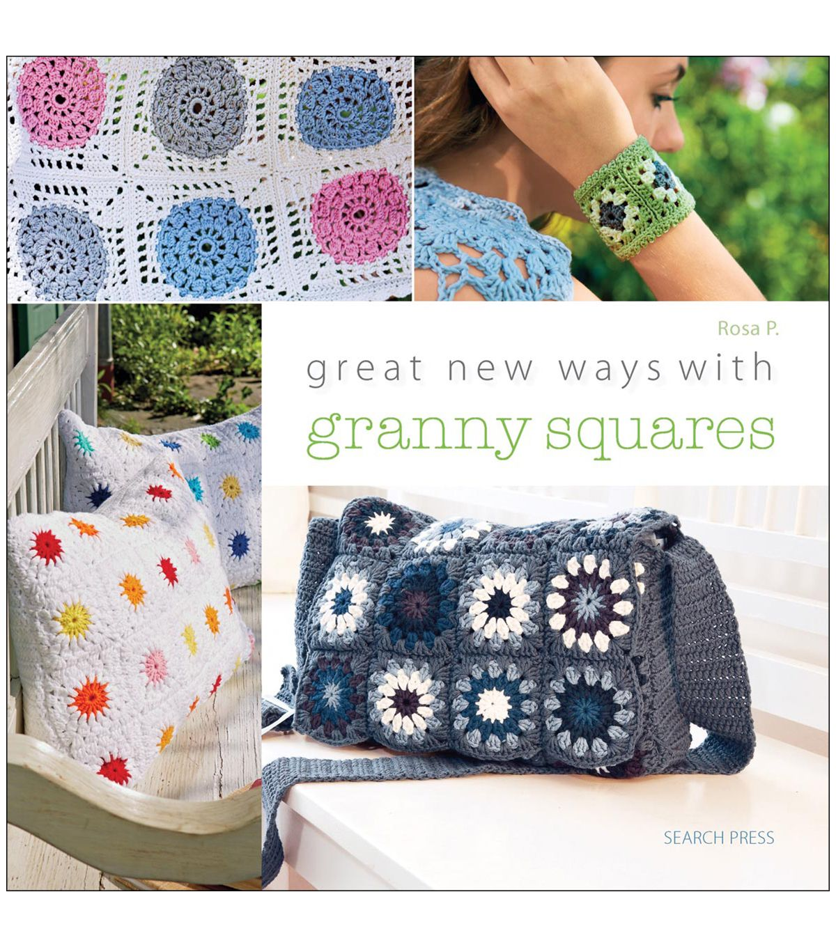 Rosa P Great New Ways With Granny Squares Crochet Book   Granny ...