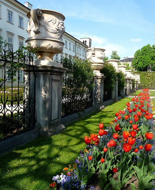 Mirabell Palace - Salzburg, Austria Salzburg, Austria http://www.travelandtransitions.com/austria-travel/