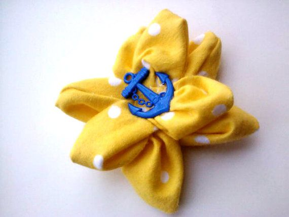 Rockabilly/Pin Up Hair Flower Clip Summers by RockabillyRevolt, $8.50