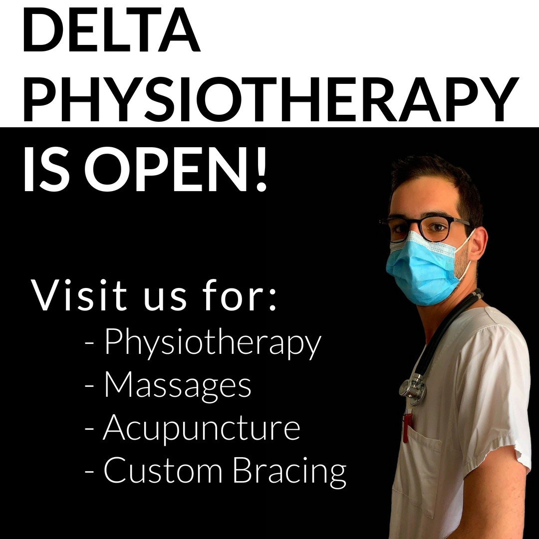 Visit Delta Physiotherapy for Physiotherapy Massages
