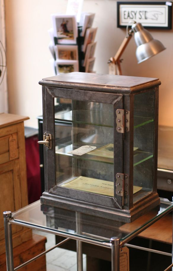 Display Case Displaycase Display Cabinet Antique Display Case
