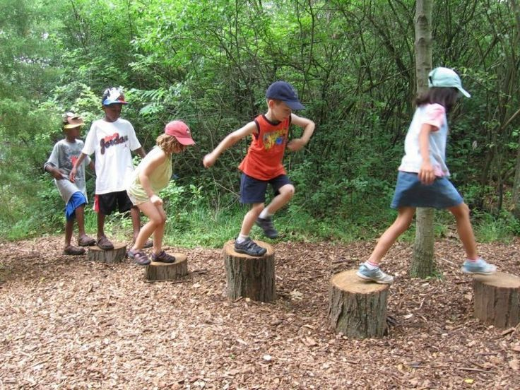 How to Build a Natural Playscape How to Build a Natural Playscape