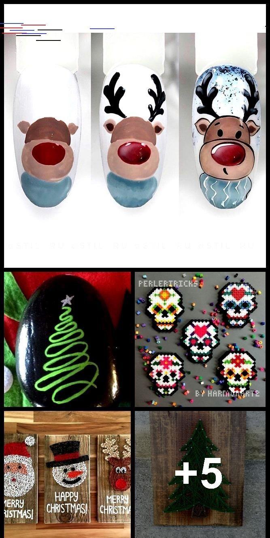 Day of the Dead Perler Bead Magnet  Hama Beads  Sugar Skull Decor  Pixel Art  Tag der Toten Perler Bead Magnet  Hama Perlen  Sugar Skull Decor  Pixel Art Christmas Orn