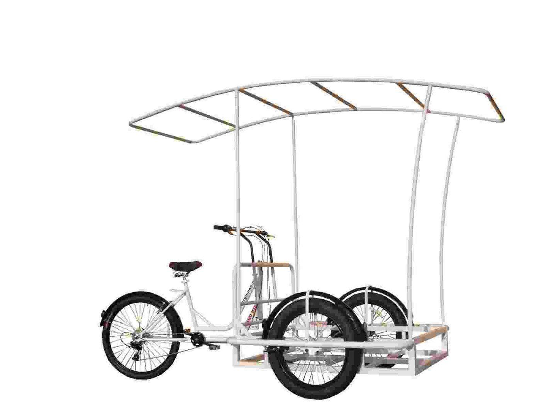 Roma Dlx 7v Work Tricycle Bike Cargo