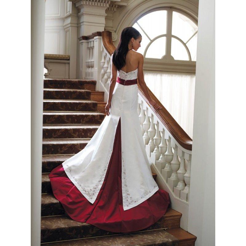 Red Wedding Dresses Informal