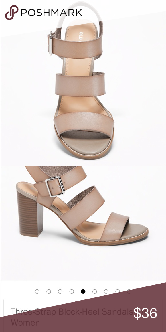 f3b36cc62c2cc ISO: Old Navy Three Strap block heel sandals In search of!! please do not  buy this listing!! Old Navy Shoes Sandals