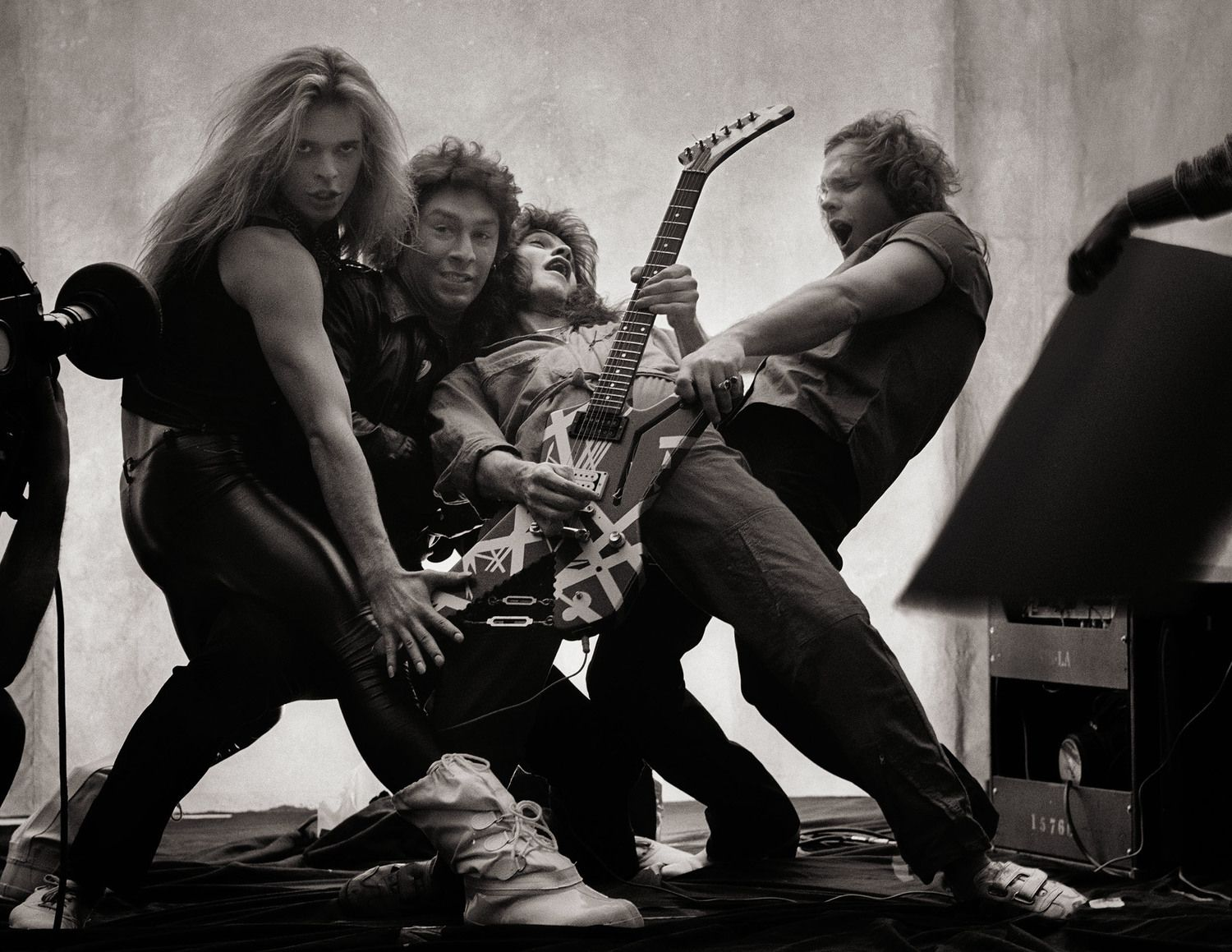Van Halen By Norman Seeff Los Angeles 1980 Van Halen Eddie Van Halen David Lee Roth