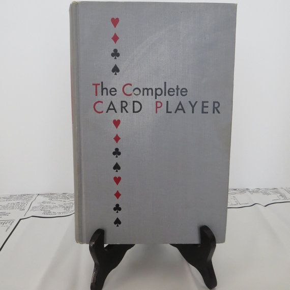 Vintage The Complete CARD PLAYER book by Albert by shabbyshopgirls, $15.50