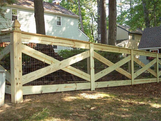 Ranch And Farm Fence Gallery With Images Farm Fence Backyard Fences Fence Design