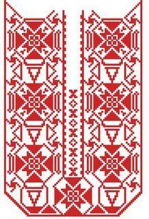 Славянская вышивка велес
