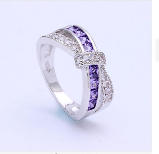 Amethyst Purple Ring. Starting at $7