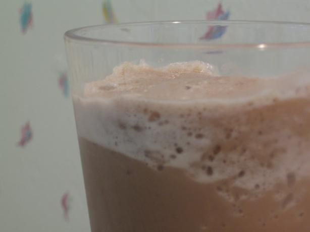 AMAZING! I omit the ice (use chopped up frozen banana instead) add organic vanilla yogurt and a little more banana to chocolate ratio and it's delicious! Chocolate Banana Smoothie from Food.com:   About as simple as you get here. Still one of my favorites and very healthy!