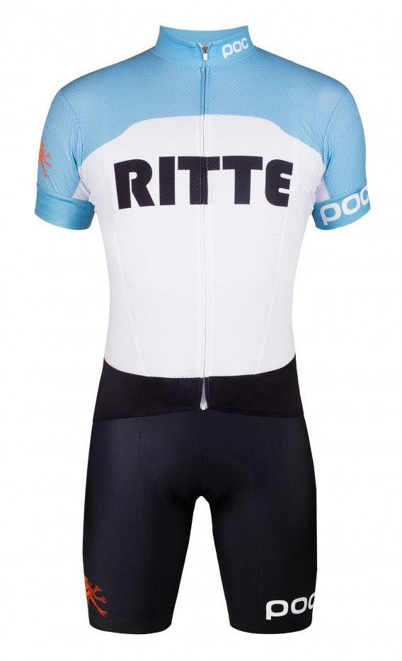 Team POC + Ritte Jersey and Bib shorts