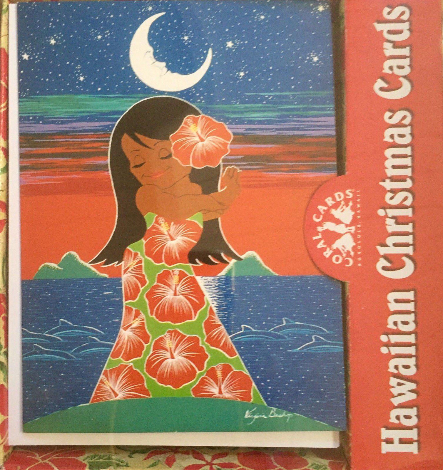 Hawaii Hula Girl Christmas Card | www.topsimages.com