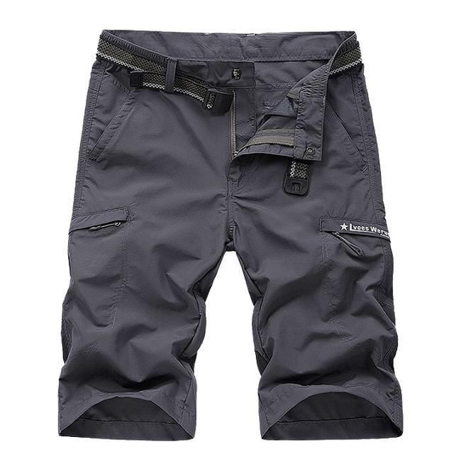 AFS JEEP HOT New Men Leisure Famous Brand Casual Short Male Summer Quick-drying Mens Shorts Cotton Clothing large size 55
