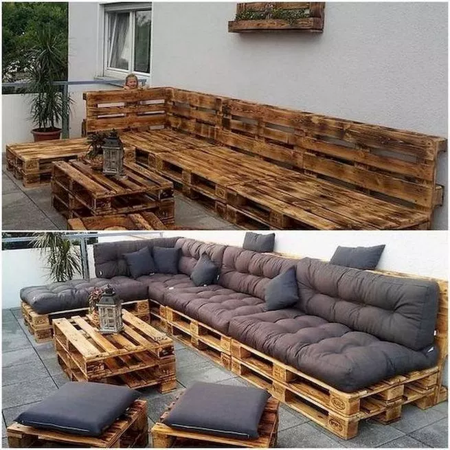 14 Awesome Outdoor Furniture Design Ideas Lmolnar Pallet Furniture