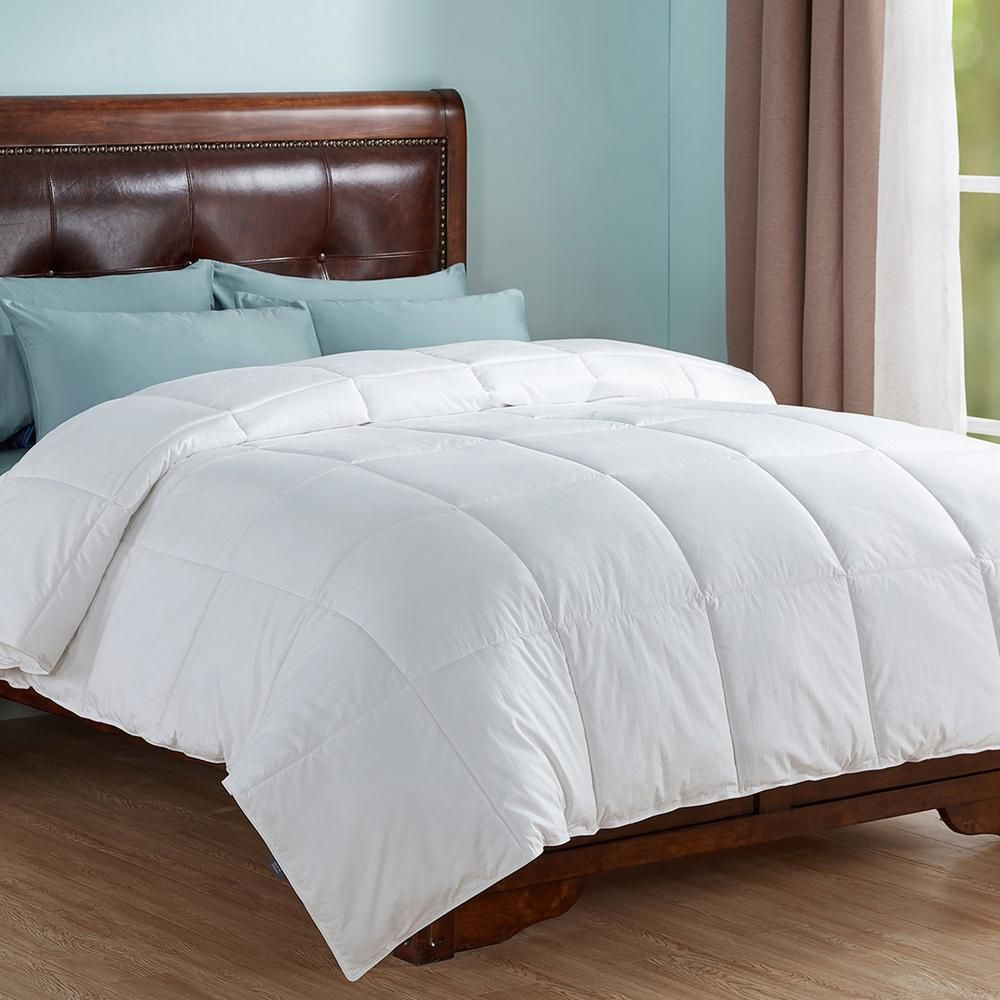 Photo of Peace nest All Season Year Round Warmth White King Down Alternative Comforter HE-AC-18015-K – The Home Depot
