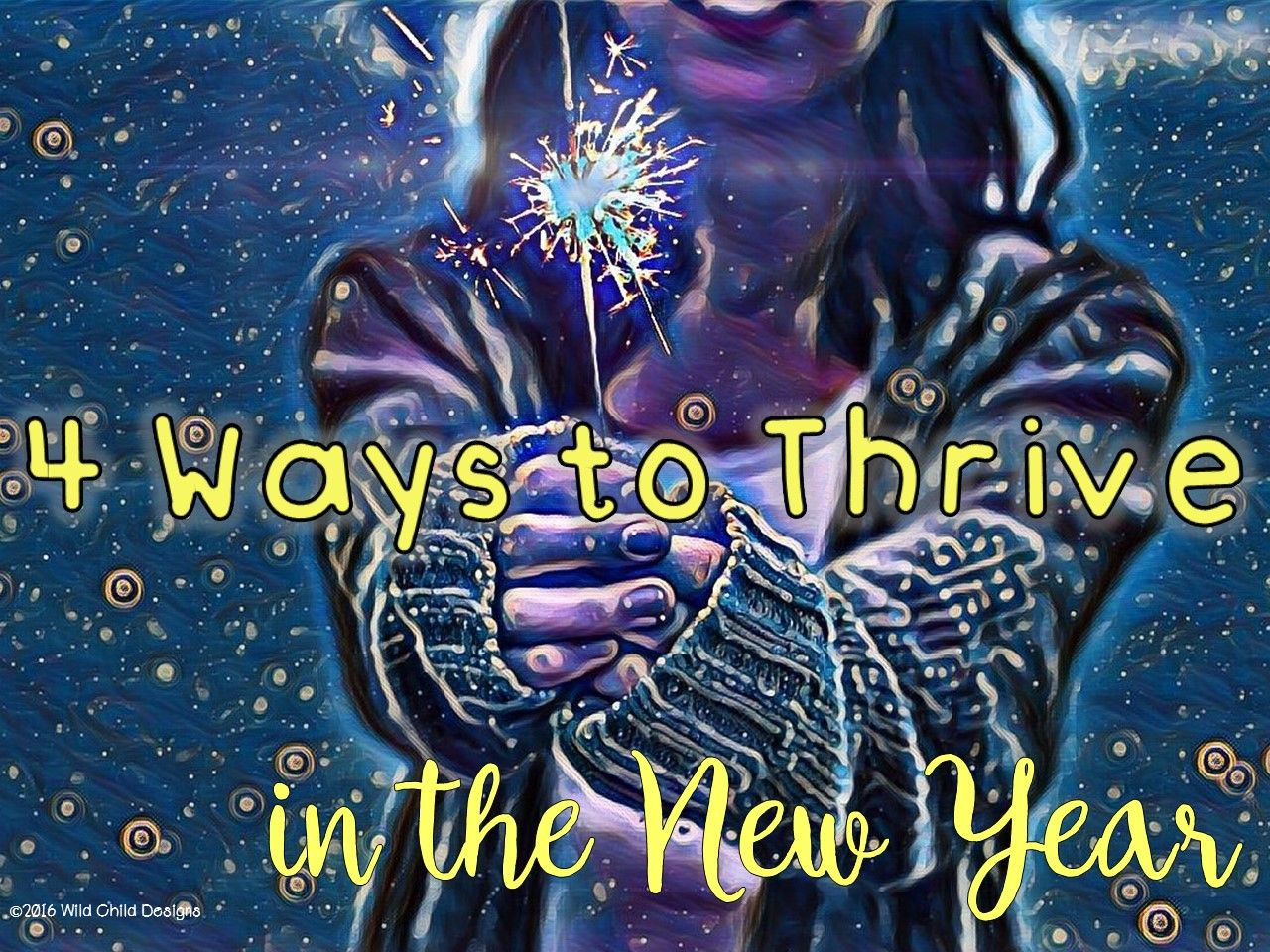 Four behaviors that can get you through hard times in a teacher's life. Don't just survive...thrive!