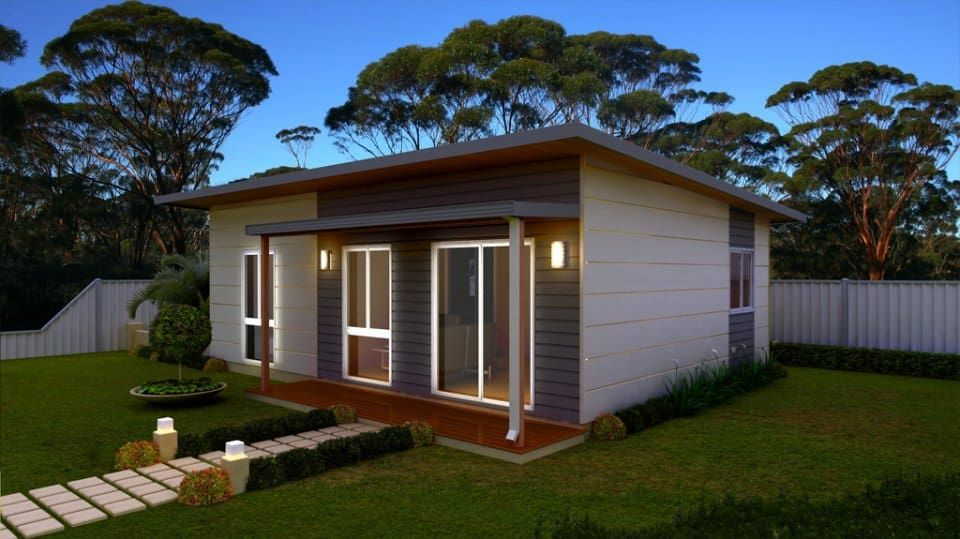 Eco Micro Home Granny Flat With 2 Or 3 Bed Unit Classic Wa Granny Pod Backyard Cottage Granny Pods Floor Plans