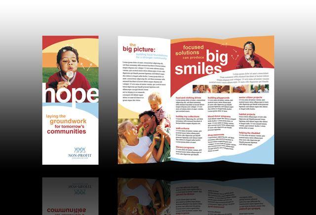 non profit design inspiration pinterest non profit brochure