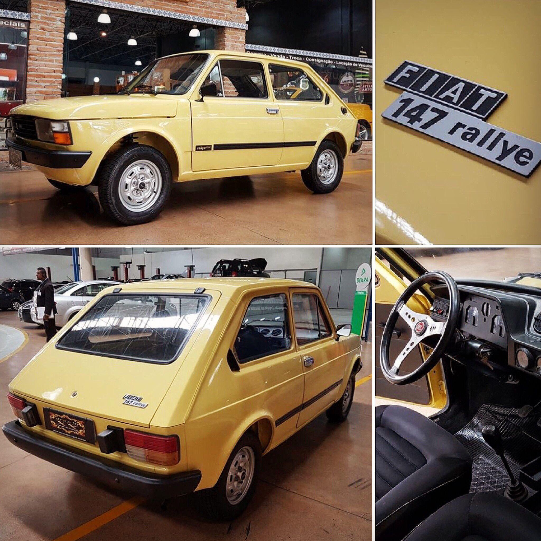 Fiat 147 Rallye 1980 Carros Carros E Caminhoes 147 Fiat