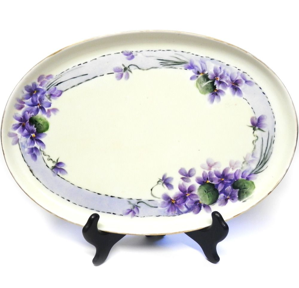 Vintage mz austria vanity tray
