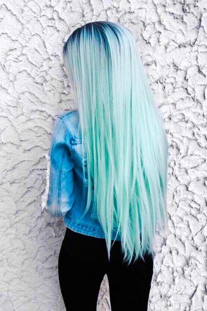 Photo of Haarfarbe 2017/2018 Grünes Haar ist eine unterhaltsame Art, Ihren Stil aufzupeppen. Check che…