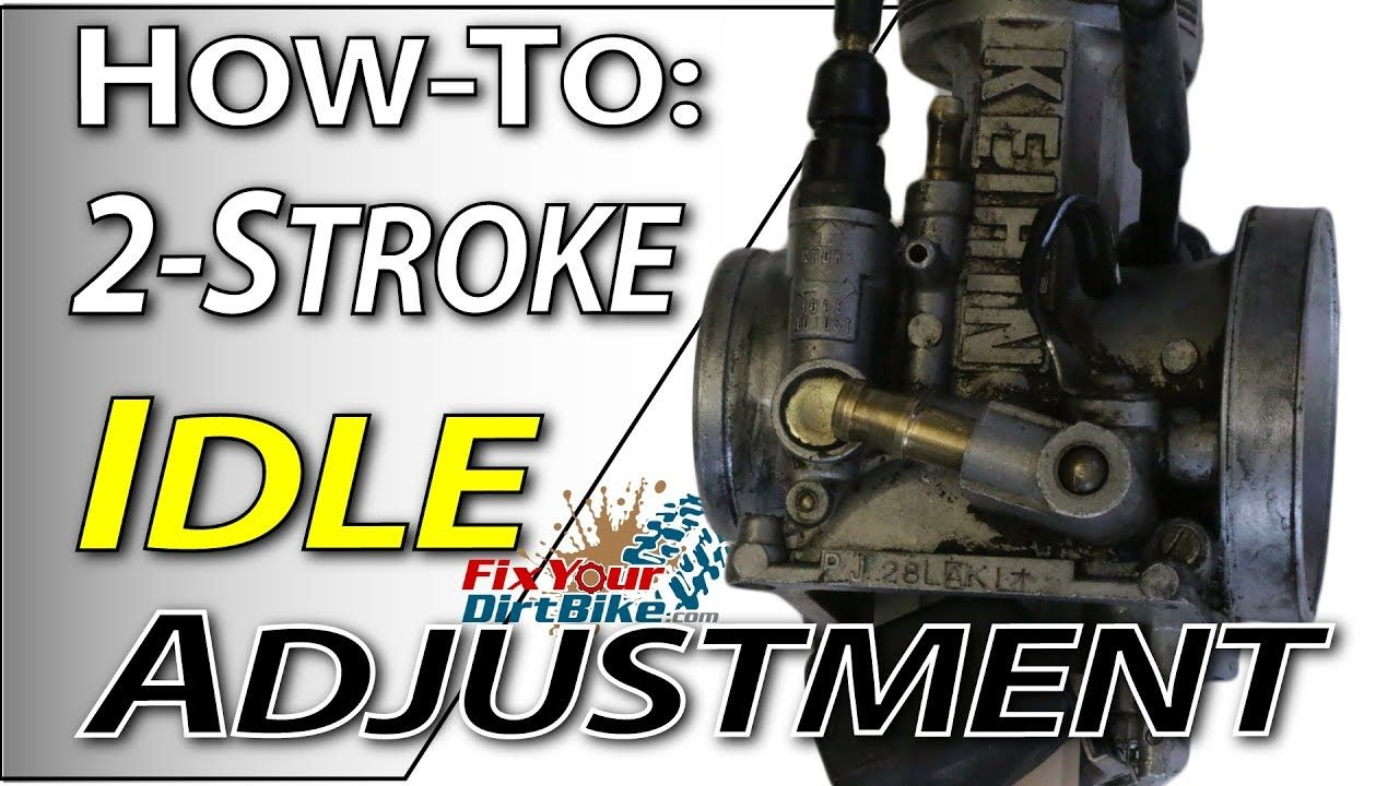 2Stroke Carburetor Tuning Idle Adjustment Fix Your