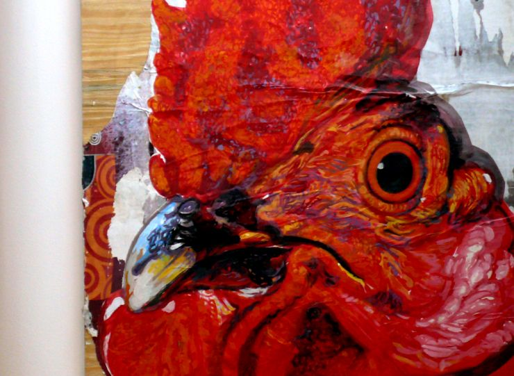 Have two roosters to paint:)
