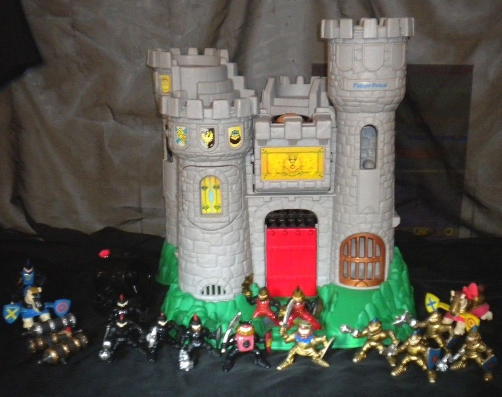 Great Castle Fantasy Knights Playset Adventures 13 Fisher Price O0w8vmNny